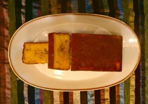 Locomotive de fête forraine (Cake à l'orange, aux carottes et au cumin) dans Cakes P7230034-300x212