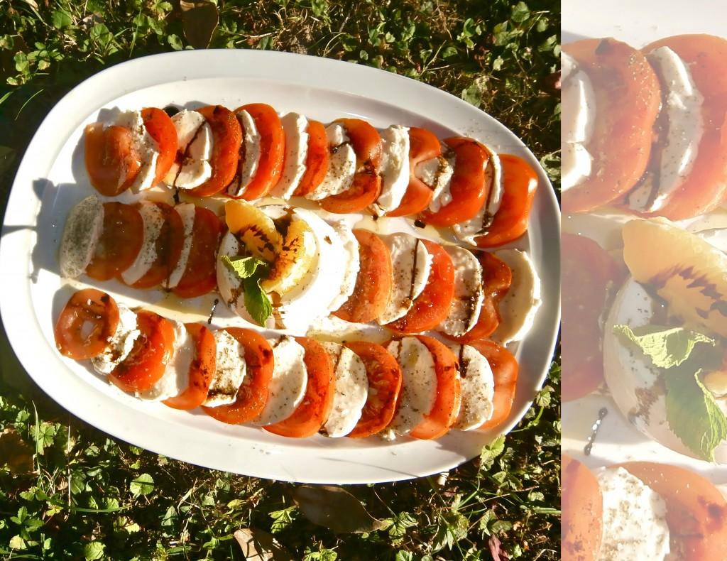 Salade caprese revisitée dans Plats froids tomate-mozza2-1024x790